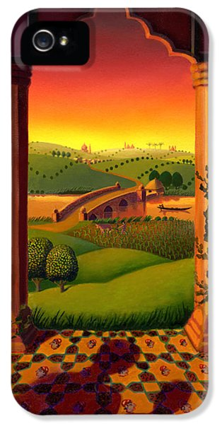 India Landscape IPhone 5 Case by Robin Moline