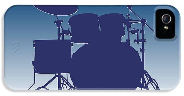 Indianapolis Colts Drum Set IPhone 5 Case by Joe Hamilton