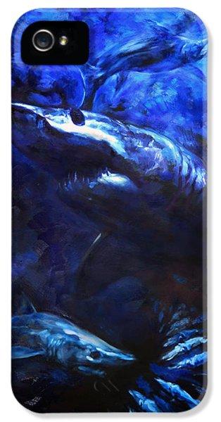 Swordfish iPhone 5 Case - Inky Waters by Tom Dauria