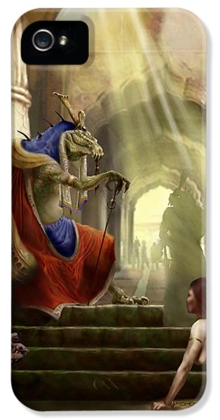 Dungeon iPhone 5 Case - Inquisition by Matt Kedzierski