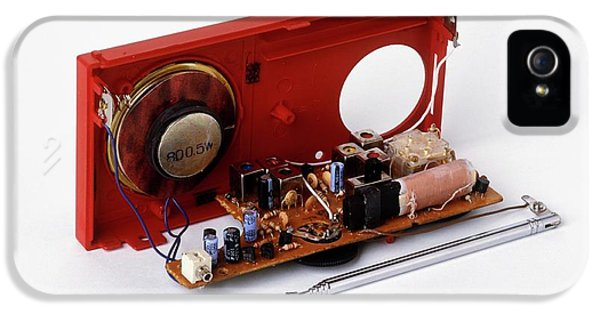 Insides Of A Portable Radio IPhone 5 Case