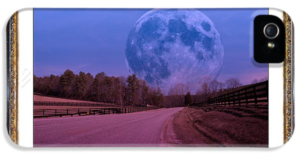Inspiration In The Night IPhone 5 Case by Betsy Knapp