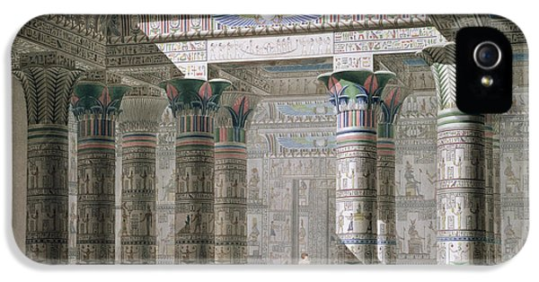 Grand Temple On The Island Of Philae IPhone 5 Case