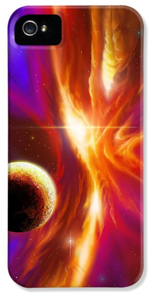 Intersteller Supernova IPhone 5 Case by James Christopher Hill