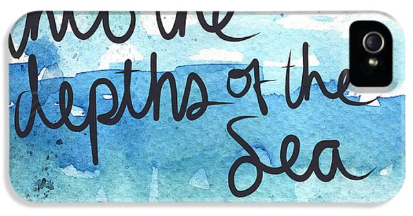 Into The Depths Of The Sea IPhone 5 Case by Linda Woods