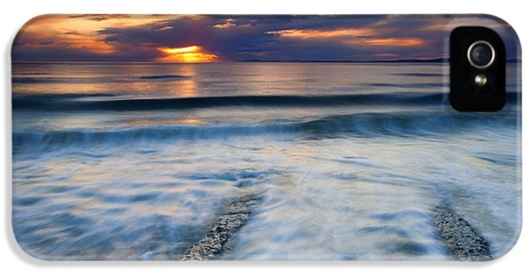 Into The Sea IPhone 5 Case by Mike  Dawson