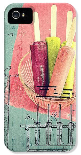 Invention Of The Ice Pop IPhone 5 Case by Edward Fielding