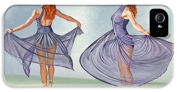 Irina Dancing In Sheer Skirt IPhone 5 Case by Paul Krapf