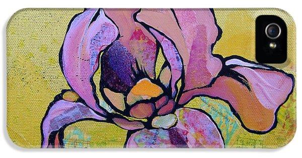 Iris I IPhone 5 Case by Shadia Derbyshire