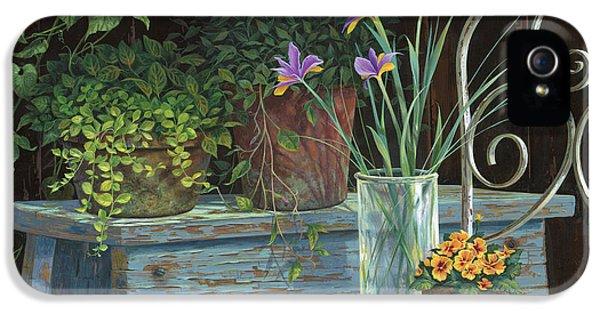 Irises IPhone 5 Case by Michael Humphries