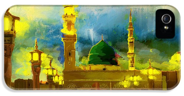 Islamic Painting 002 IPhone 5 Case by Corporate Art Task Force