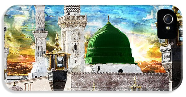 Islamic Painting 004 IPhone 5 Case by Catf