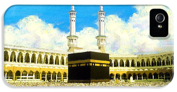 Islamic Painting 006 IPhone 5 Case by Catf