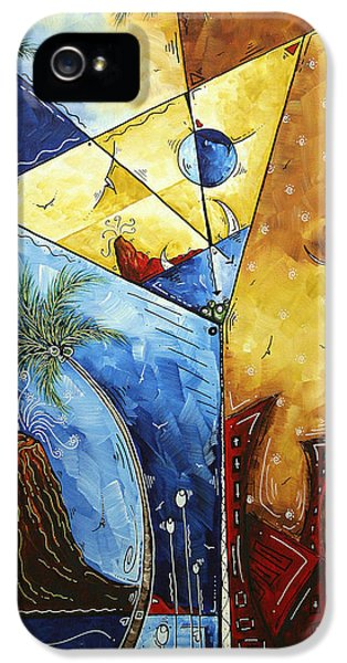 Island Martini  Original Madart Painting IPhone 5 / 5s Case by Megan Duncanson