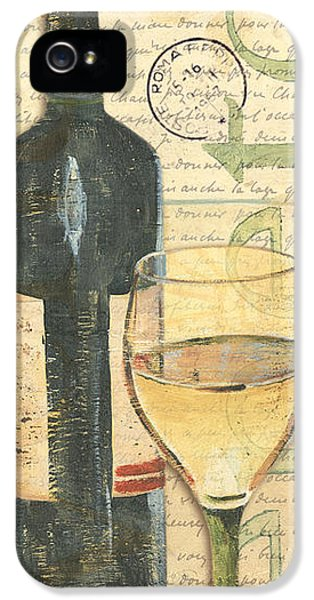 Italian Wine And Grapes 1 IPhone 5 Case by Debbie DeWitt