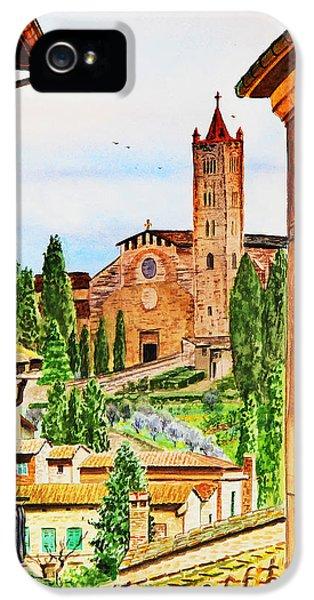 Italy Siena IPhone 5 Case