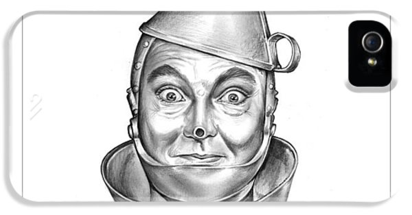 Wizard iPhone 5 Case - Jack Haley As The Tin Man by Greg Joens
