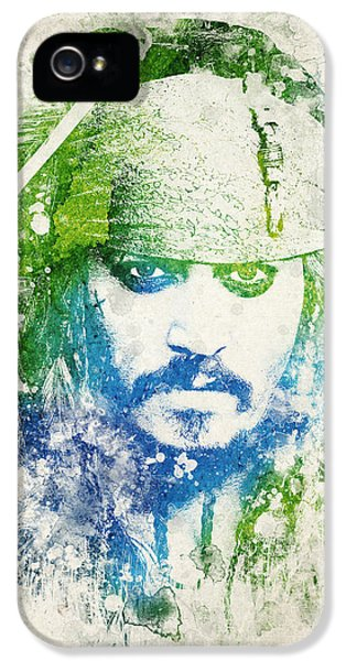 Jack Sparrow IPhone 5 Case by Aged Pixel