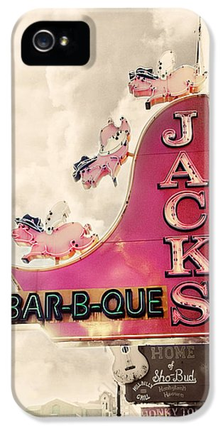 Jacks Bbq IPhone 5 / 5s Case by Amy Tyler