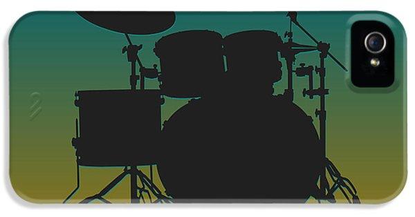 Jacksonville Jaguars Drum Set IPhone 5 Case by Joe Hamilton