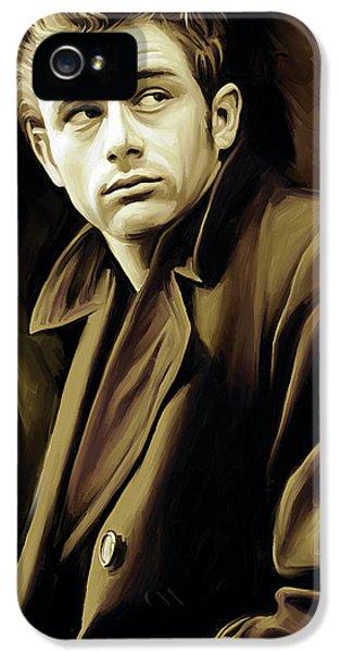 James Dean Artwork IPhone 5 Case