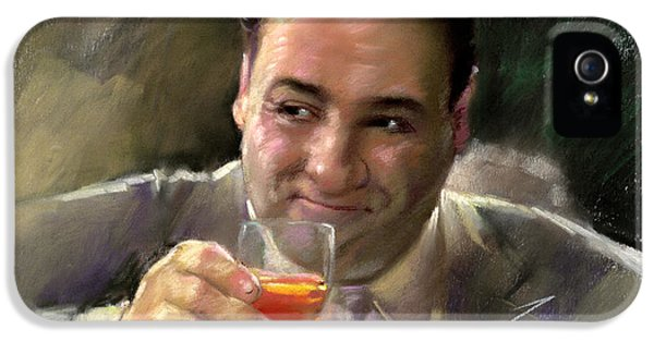 James Gandolfini IPhone 5 / 5s Case by Viola El