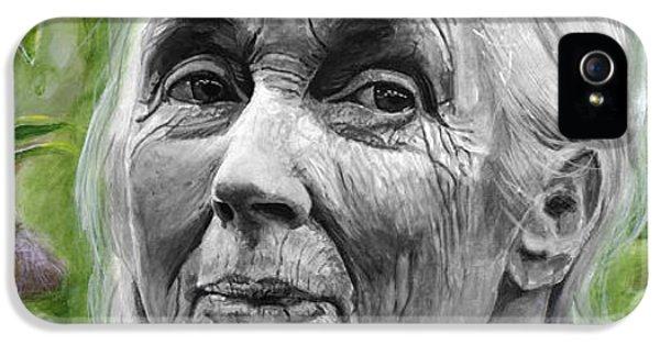 Jane Goodall IPhone 5 Case