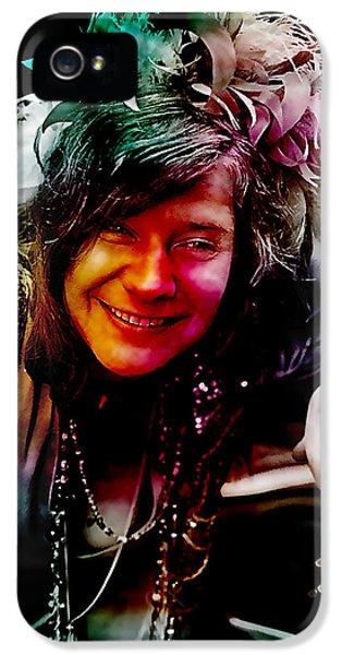 Janis Joplin IPhone 5 Case by Marvin Blaine