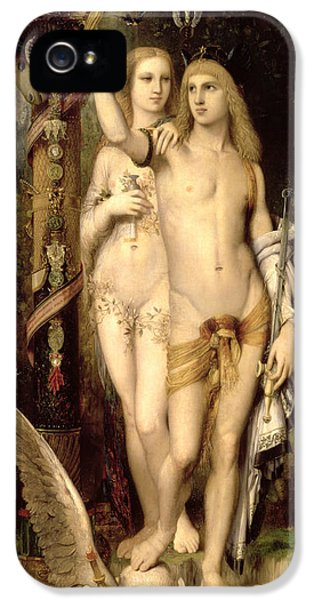 Jason And Medea IPhone 5 Case by Gustave Moreau