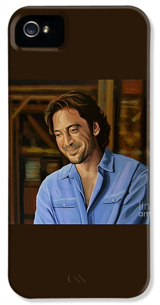 Javier Bardem Painting IPhone 5 Case