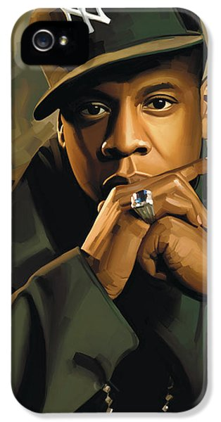 Jay-z Artwork 2 IPhone 5 Case by Sheraz A