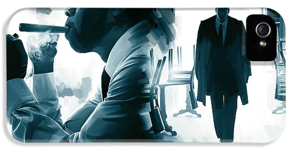 Jay-z Artwork 3 IPhone 5 Case by Sheraz A