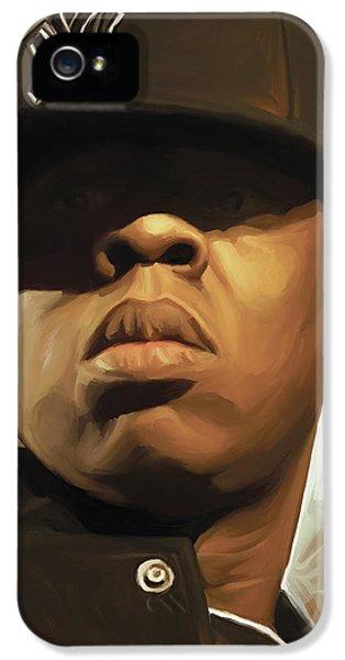 Jay-z Artwork IPhone 5 Case by Sheraz A
