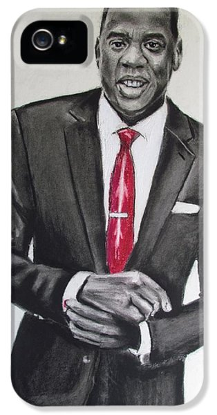 Jay Z IPhone 5 Case by Eric Dee