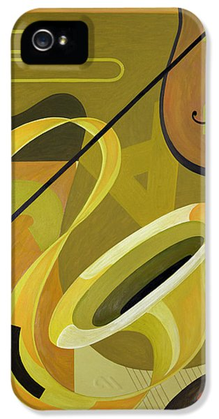 Jazz IPhone 5 / 5s Case by Carolyn Hubbard-Ford