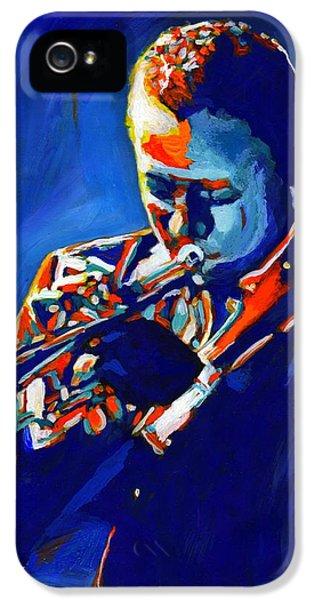 Trumpet iPhone 5 Case - Jazz Man Miles Davis by Vel Verrept