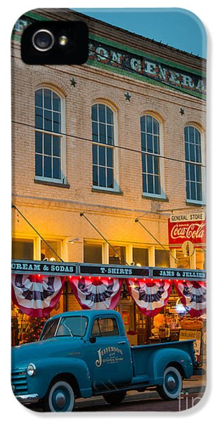 Jefferson General Store IPhone 5 Case by Inge Johnsson