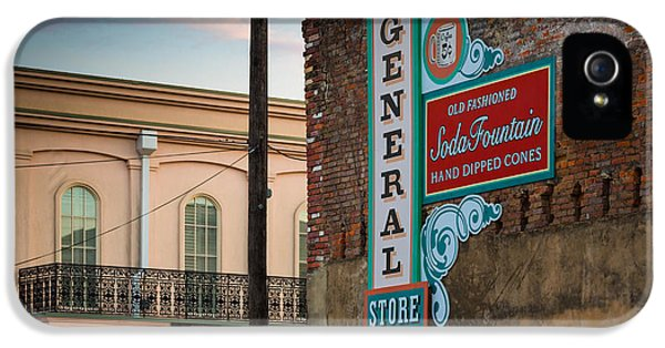 Jefferson Soda Fountain IPhone 5 Case by Inge Johnsson