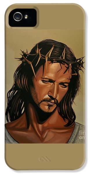 Jesus Christ Superstar IPhone 5 Case by Paul Meijering
