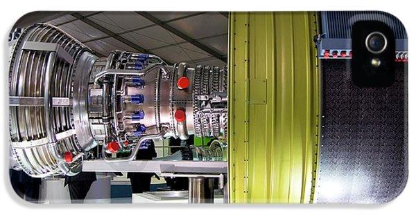 Jet Aircraft Engine IPhone 5 Case