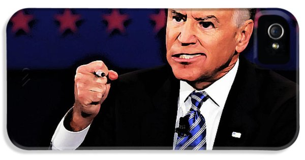 Joe Bidencaricature IPhone 5 Case by Anthony Caruso