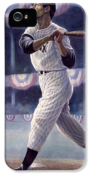 Joe Dimaggio IPhone 5 / 5s Case by Gregory Perillo