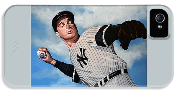 Joe Dimaggio IPhone 5 / 5s Case by Paul Meijering