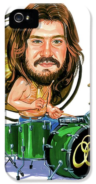 Drum iPhone 5 Case - John Bonham by Art
