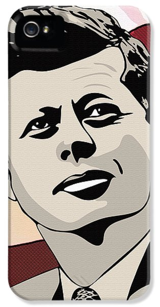 John F. Kennedy 1st Irish Catholic President  IPhone 5 Case