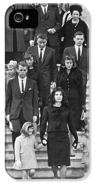 John F. Kennedy Funeral IPhone 5 Case by Underwood Archives