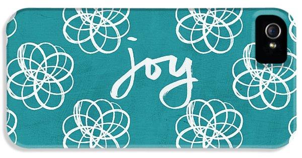 Joy Boho Floral Print IPhone 5 Case by Linda Woods