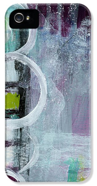 Junction- Abstract Expressionist Art IPhone 5 Case