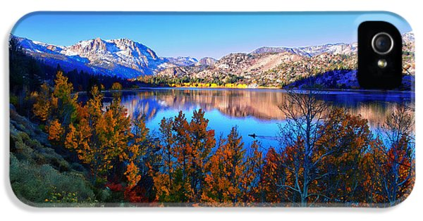 June Lake California Sunrise IPhone 5 Case