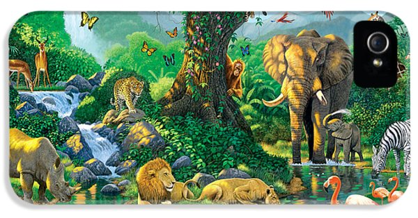 Jungle Harmony IPhone 5 / 5s Case by Chris Heitt